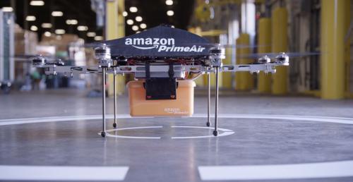 Доставка Amazon Prime Air