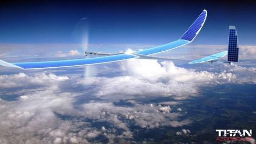 БПЛА компании Titan Aerospace