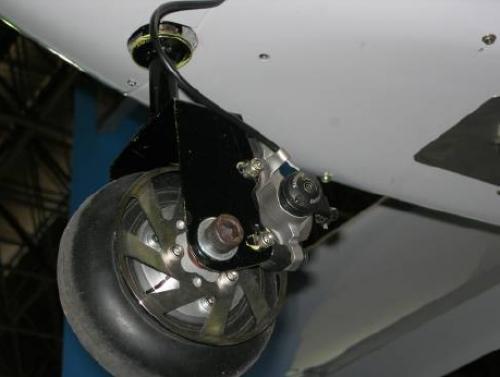 Рисунок 11. Дисковый тормоз на колесе шасси БЛА
