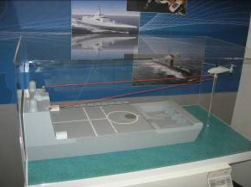 Рисунок 16. Посадка вертолета Schiebel Camcopter на палубу движущегося судна