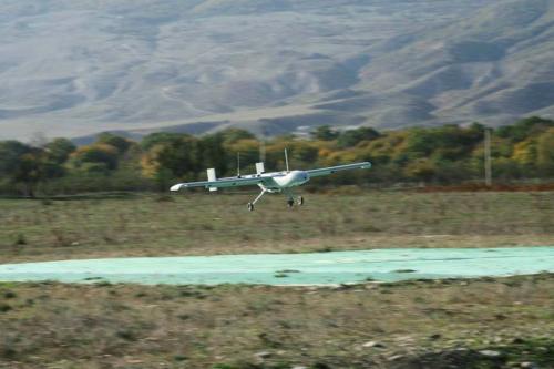 Рисунок 2. БЛА «Дозор-4» в горах Дагестана