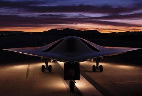 Рисунок 4. БЛА X-47A