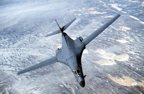 Рисунок 2. Бомбардировщик B-1B