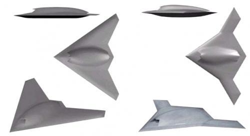 Рисунок 4. БЛА X-45C Рисунок 5. БЛА X-47B