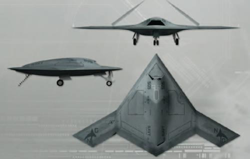 Рисунок 5. БЛА X-47B