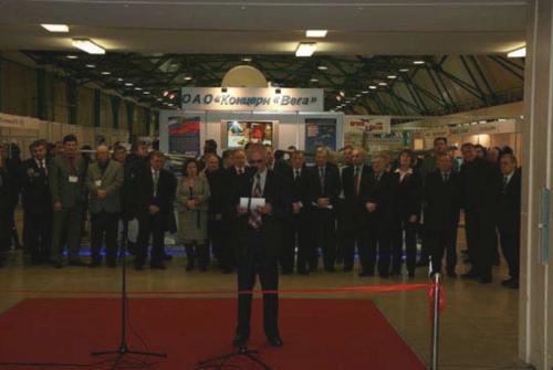 Церемония открытия выставки UVS-TECH 2008