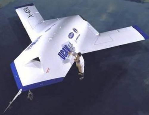 Рисунок 3. БЛА X-45A фирмы Boeing