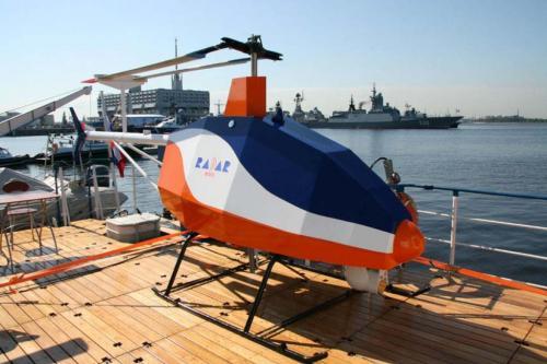 Рисунок 7. Беспилотный вертолет компании «Радар ммс»