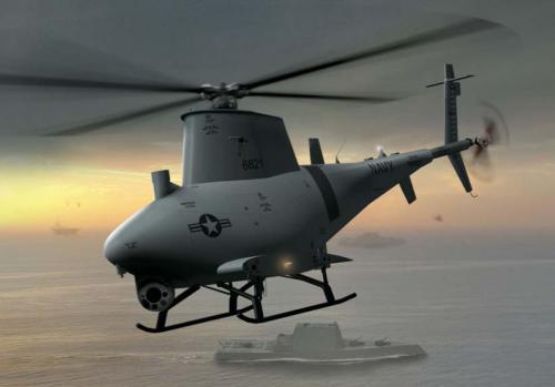 Рисунок 2. БЛА Fire Scout должны улучшить ситуационную осведомленность кораблей ВМС США