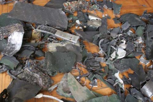 Рисунок 2. Обломки беспилотника