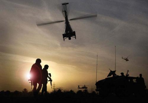 Рисунок 4. Армия США предполагает использовать БЛА Fire Scout MQ 8B в рамках программы FCS