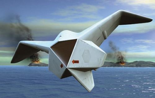Двухсредный беспилотный аппарат Cormorant