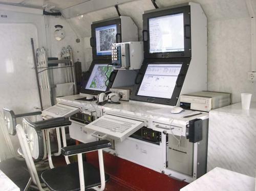 Наземная станция управления комплекса
