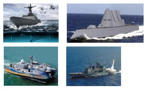 Наиболее известные из морских применений RTI DDS