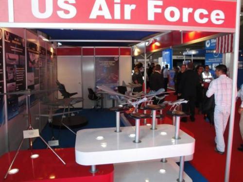 Выставочный стенд ВВС США