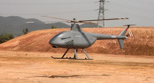 Беспилотный вертолет SVU-200